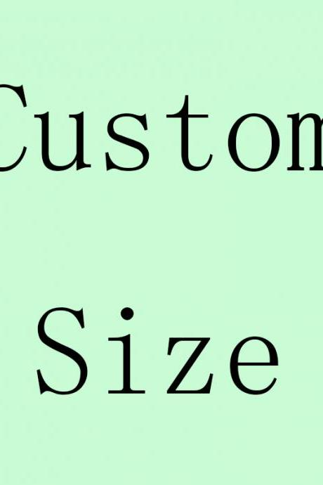 Extra Custom Made Fee, Rush Order Cost