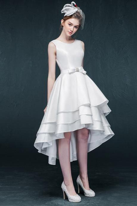 Prom Dresses,Prom Dress,White Dresses,High Low Dresses