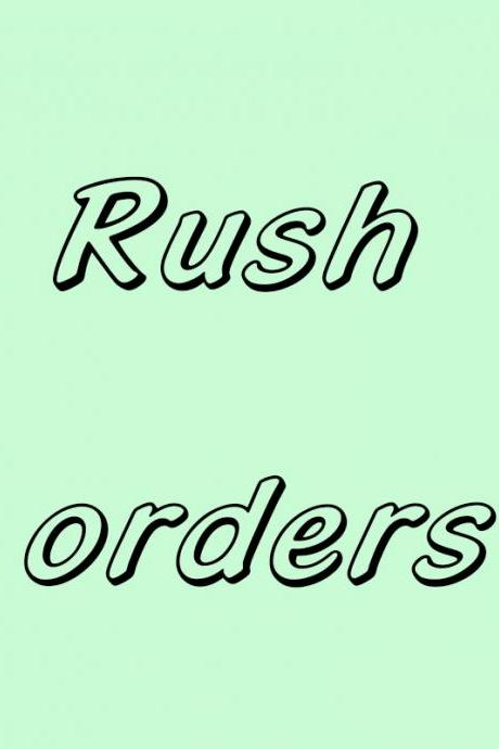 Rush Orders,Tailor-made,Custom Colors ( Please Contact Us If You Need Rush & Customized & Colors )