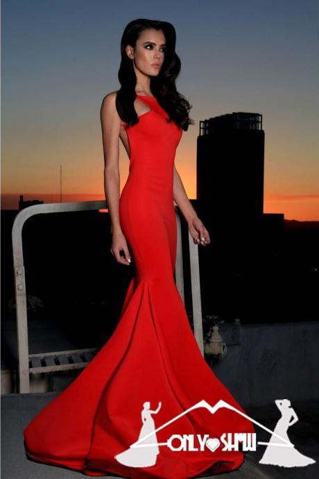 Prom Dresses 2017,Prom Dress,Sexy Prom Dresses,Mermaid Prom Dresses,Backless Prom Dresses,Prom Gown,Red Prom Dresses